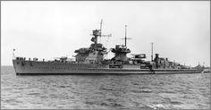 German light cruiser Nürnberg.