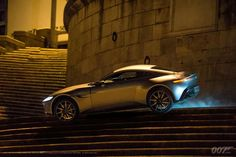 Spectre car chase in Rome
