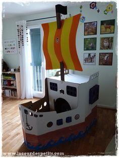 bateau carton
