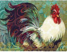 Lang Wallpaper | Bohemian Rooster | December 2014