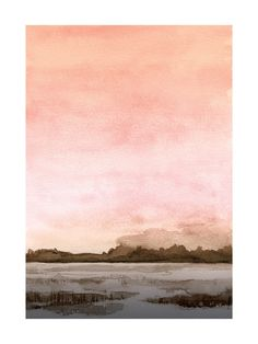 """Marshy Cove"" - Art Print by Field and Sky in beautiful frame options and a variety of sizes."