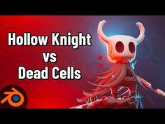 (93) Concept Fusion: Hollow Knight vs Dead Cells - YouTube Blender 3d, Blender Models, 3d Computer Graphics, Hollow Art, Blender Tutorial, Video Game Development, 3d Software, 3d Modeling, 3d Animation