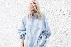 figtny.com | Chambray Shirts + Cropped Denim