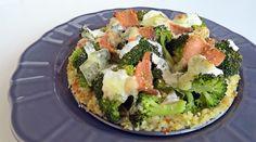 Lazacos rakott brokkoli, rizs helyett bulgurral!