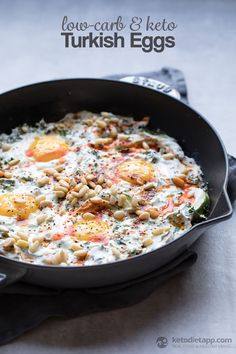 Low-Carb Turkish Eggs