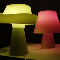 The safe silicone construction of the Numen Table Lamp is fun and flexible. http://www.ylighting.com/blog/top-10-nursery-lighting/