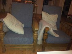 Opgeknapte stoelen