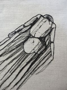 Interesting fiber art