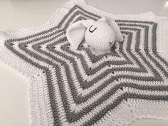 manta de apego bebe - doudou - baby blanket - baby toy de Inayass en Etsy