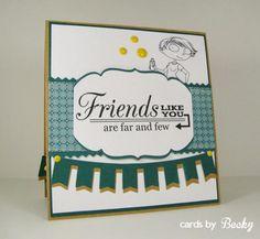 KraftinKimmie Kraftin' Kimmie Stamp Moonlight Whispers Shine On! (Card Inside)