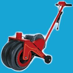 Power caster electric trailer mover dolly boat dolly for Motorized boat trailer mover