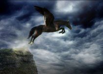 Flying horse Winged Horse, Om Mani Padme Hum, Horse Fly, Horse Pictures, Mythical Creatures, Bald Eagle, Whale, Horses, Bird