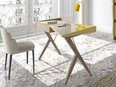 Bureau. Mod. ATENAS CHÊNE Drafting Desk, Furniture, Home Decor, Athens, Oak Tree, Desk, Couches, House Decorations, Drawer
