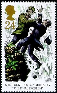 Detective Fiction on Stamps: Great Britain - Sherlock Holmes