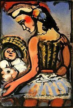 Dors Mon Amour, 1953 - Georges Rouault
