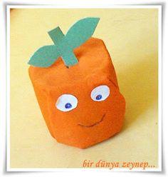 #preschool #okulöncesi #kindergarten #sanatetkinliği #kidscraft #portakal #orange