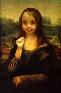 mona lisa awkward girl - Google Search