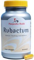 Rubactum - Natural Rosacea Remedy A once daily approach to Rosacea Management.
