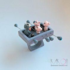 Three little pigs ring
