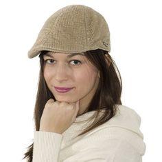 Stetson Tomah - manšestrová kšiltová čepice s klapkami na uši v pískové  barvě. 330f74ab00