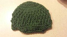 Boy hat with brim, 3-6 mos