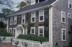Side-Gabled Roof. Nantucket, MA. ca 1820.