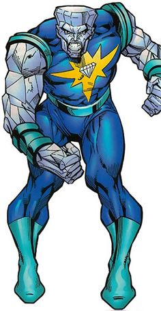 Diamondhead - Marvel Comics - Nova enemy - Arch Dyker