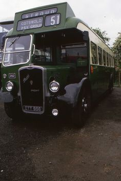 a Bristol from 1938 with a 1955 ECW body. It entered service with Western National. Bristol City, Bus Coach, Busses, Weird And Wonderful, Classic Trucks, Campers, Rally, Vintage Cars, Transportation