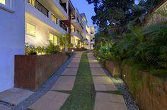 Vianaar's recently completed La Mer Apartments in North Goa. Shot taken at dusk...watch out for more!  vianaar.com - #Goa #vianaar