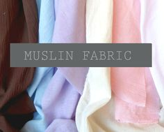 NEW COLOR: Sweet Pea, Plum, Salmon!   BC Blankets is now an online Muslin fabric dealer! We are bringing the same quality of Muslin that we use for