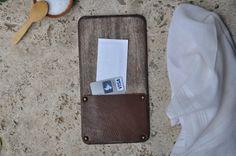 Wooden Board Check Presenter