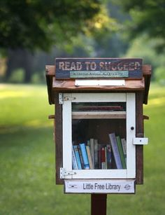 We Should Have Such A Book Exchange Box At University To Encourage Cross