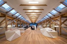 AIRY - Old Boat Houses Repurposed Into New Offices
