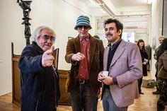 Elio Marchegiani,  Andrea Renzini e Stefano Pasquini at Studio Cloud 4 Inauguration