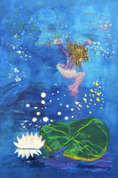 Gwendolyn water fairy playing