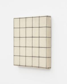 Robert Ryman - Stretched Drawing x 5 grid] Charcoal on sized cotton x cm) Steel Drawing, Block Painting, Party Centerpieces, Tile Art, Art Plastique, Print Pictures, Installation Art, Painting Inspiration, Contemporary Art