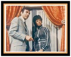Mike Connors and Gail Fisher in Mannix.