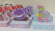 Caixinhas - Tema Alice no País das Maravilha Personalizamos de acordo com sua preferência! Produzido sob encomenda! ...