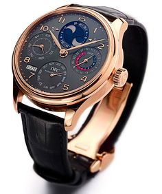 Red Gold IWC Portuguese Perpetual Calendar Double Moonphase (Boutique Exclusive) | Perpetuelle