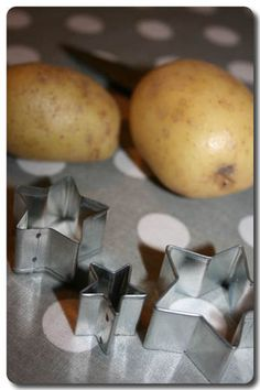 Tuto la peinture à la patate! - Mathilde Marie Made ... Diy Tutorial, Mousse, Vegetables, Marie, Food, Essen, Vegetable Recipes, Meals, Yemek