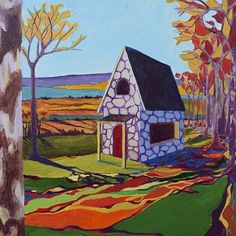 Cottage in the Woods: Autumn from Rock Paper Scissors for $185.00