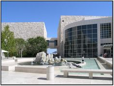 Paul Getty museum in Losangeles
