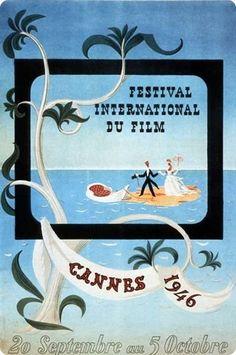 Toutes les affiches du festival de Cannes de 1946 à 2015