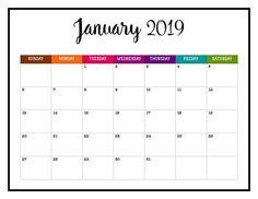 printable january 2019 calendar template january calendar 2019