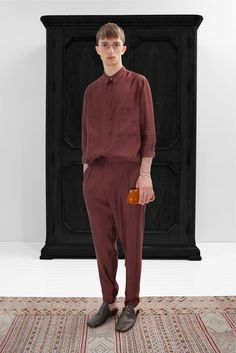 Christophe Lemaire Spring 2013 Menswear Collection Slideshow on Style.com