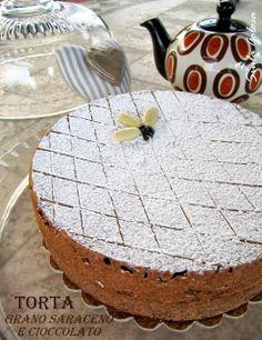 Torta al grano saraceno e cioccolato