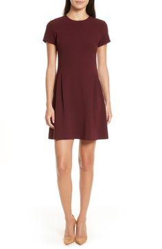 THEORY CORSET ADMIRAL CREPE T-SHIRT DRESS. #theory #cloth #