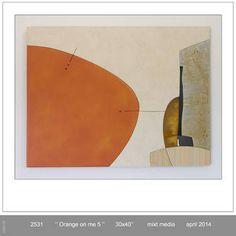 "Saatchi Art Artist Pascal Pierme; Sculpture, ""Orange On Me 5"" #art"