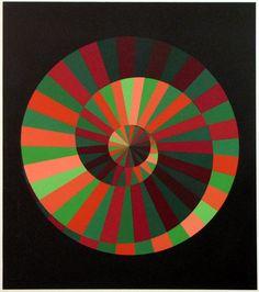 Victor Vasarely Kraft und Natur (1972) media: silkscreen