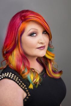 Amber Moyer | 2015 Show Us Your VIVIDS Contest | #pravana #showusyourvivids